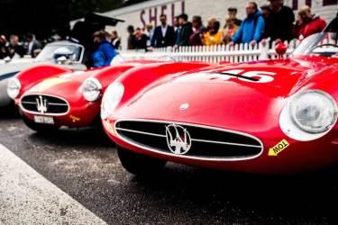 Maserati at 2017 Goodwood Revival