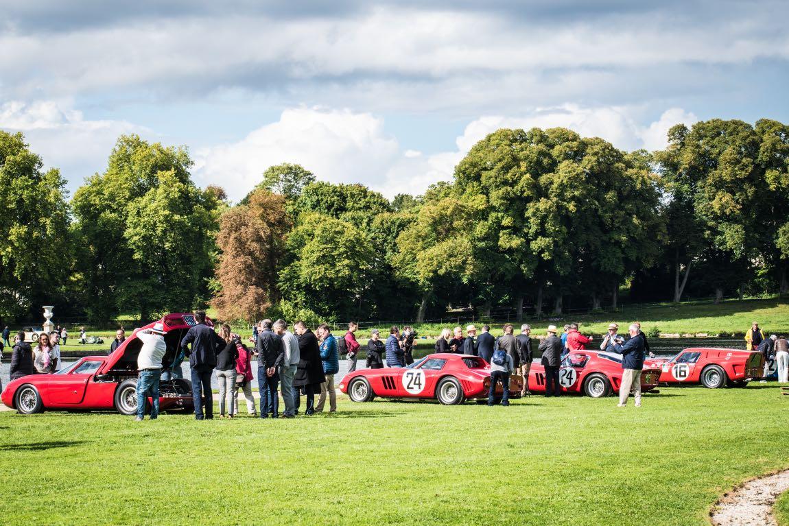 Le Mans Ferraris at Chantilly Concours d'Elegance 2017