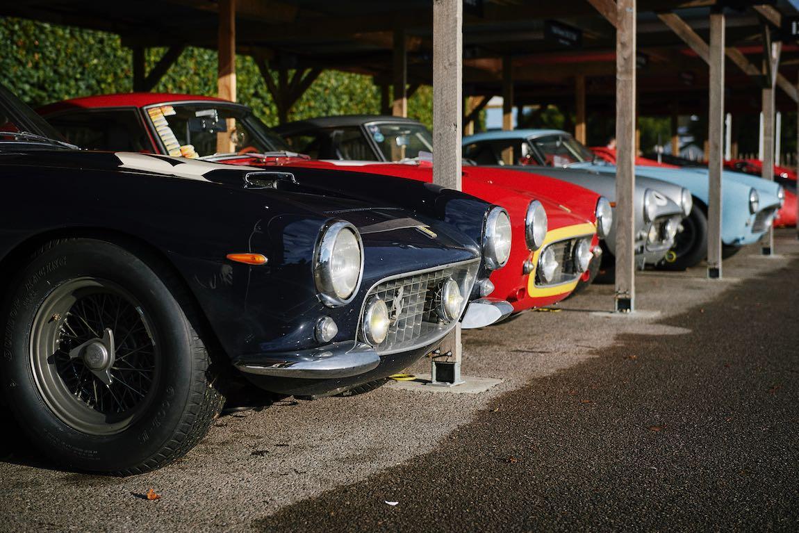 Ferrari 250 GT SWB Berlinetta paddock