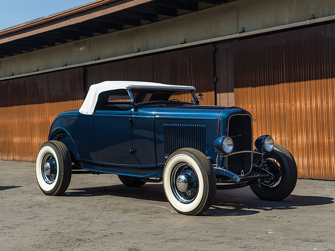"""1932 Ford """"Pete Henderson"""" Roadster offered from the Ralph Whitworth Collection"""