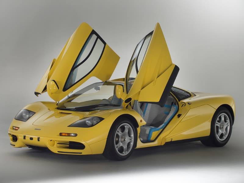 Virtually Brand New Mclaren F1 Offered For Sale