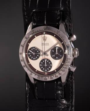 Rolex Cosmograph Daytona owned by Paul Newman