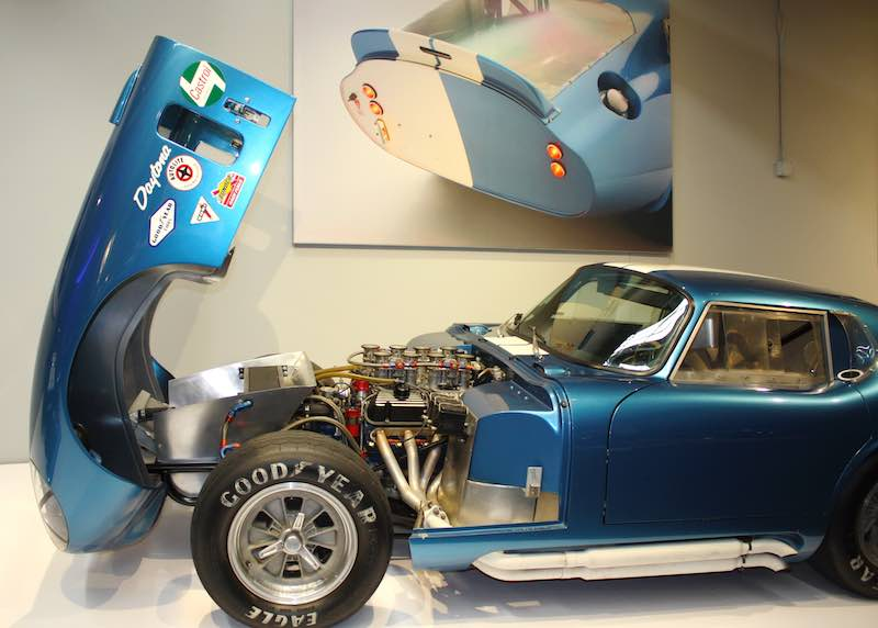 Shelby Daytona Cobra Coupe - Newport Car Museum