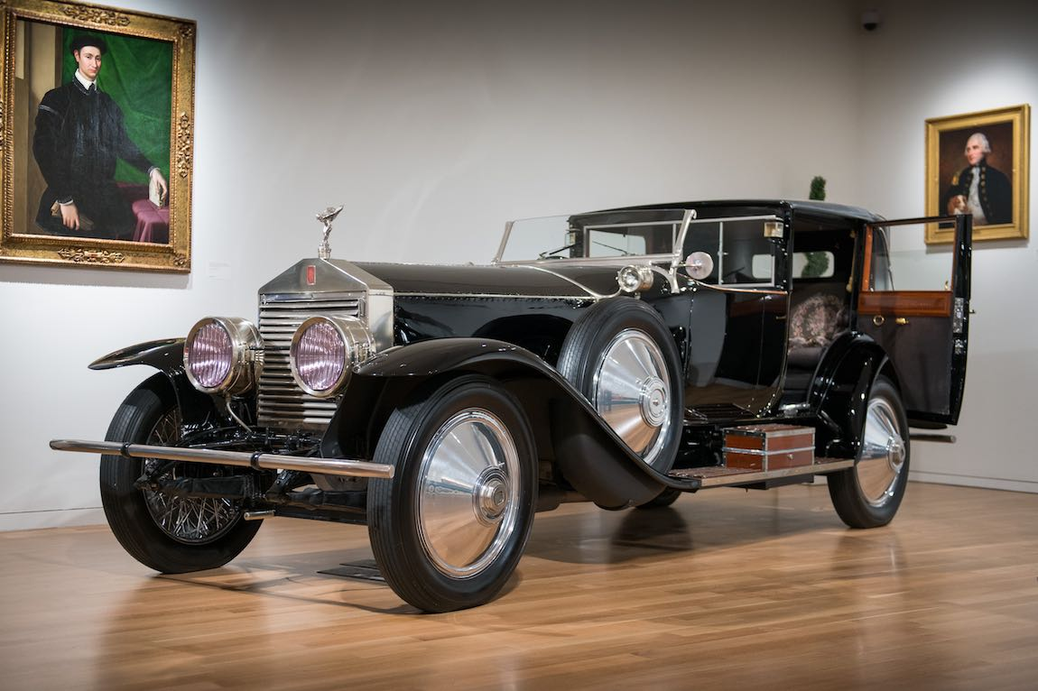 1923 Rolls-Royce Silver Ghost Riviera Town Car by Brewster Sold For $307,500