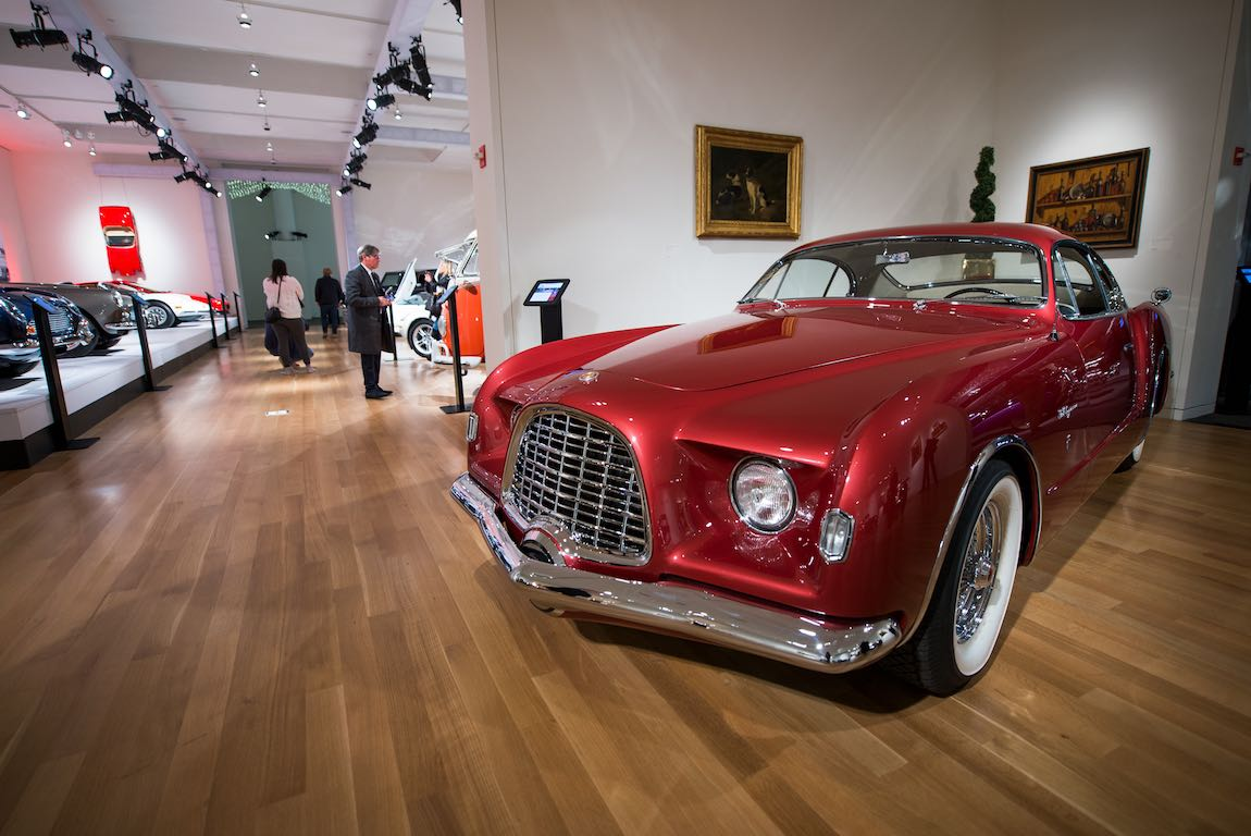 1952 Chrysler D'Elegance by Ghia Sold For $885,000