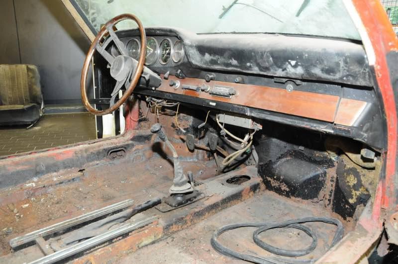 1964 Porsche 901, number 57, as found in 2014