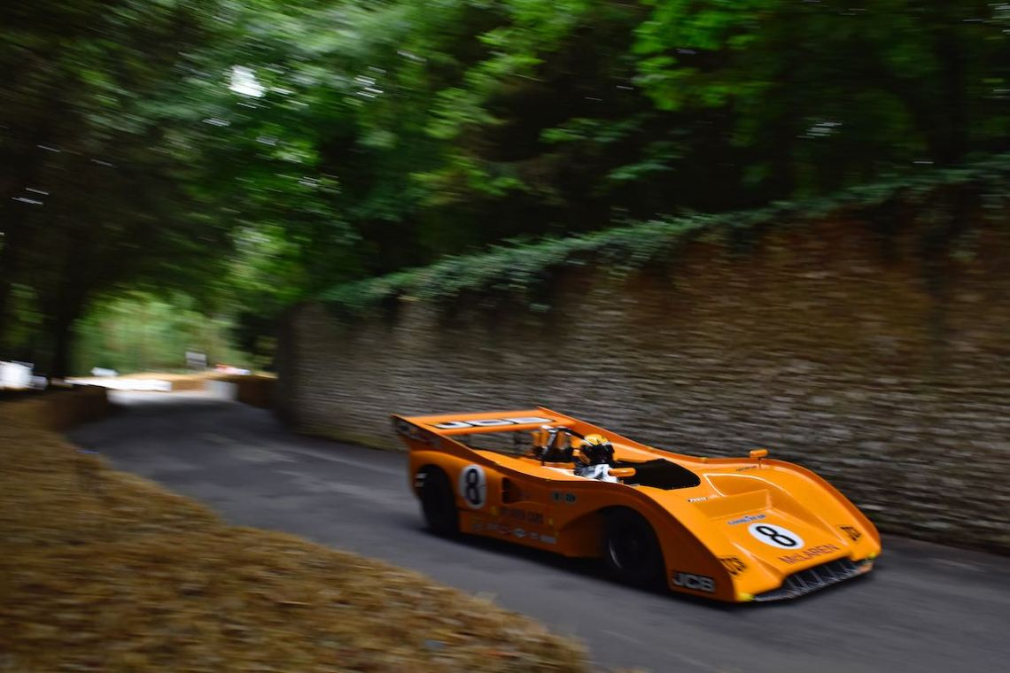 McLaren Can-Am at the Goodwood Festival of Speed (photo: Jochen Van Cauwenberg)