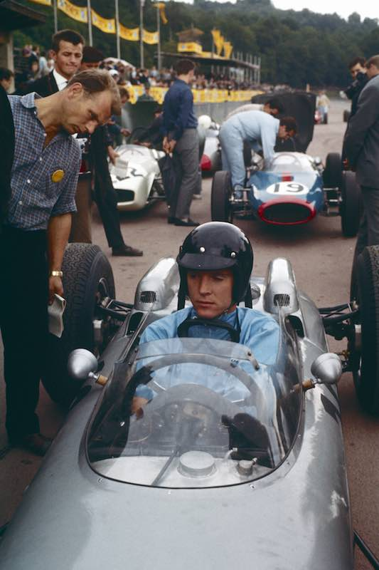 15th of July,1962: Dan Gurney wins the Formula 1 Grand Prix at the Solitude with Porsche 804