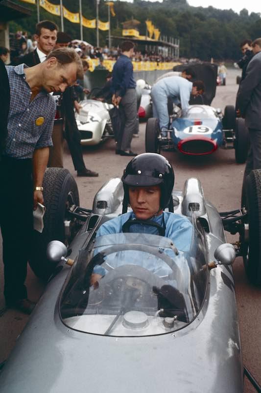 15th of July,1962: Dan Gurney wins the Formula 1 Grand Prix at the Solitude with Porsche 804