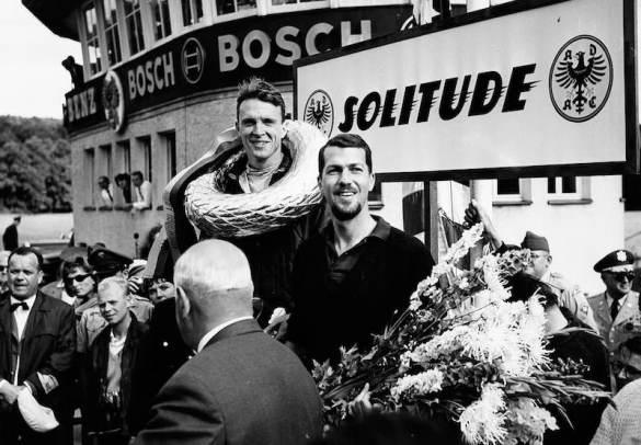 Solitude 1962: Dan Gurney and Joakim Bonnier (right).