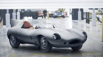 Jaguar D-Type Race Car Reproduction