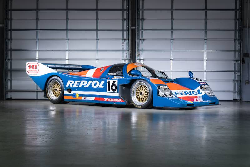 1990 Porsche 962C (photo: Mike Maez)