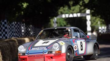 MARTINI Racing Porsche 911 Carrera RSR No. 8