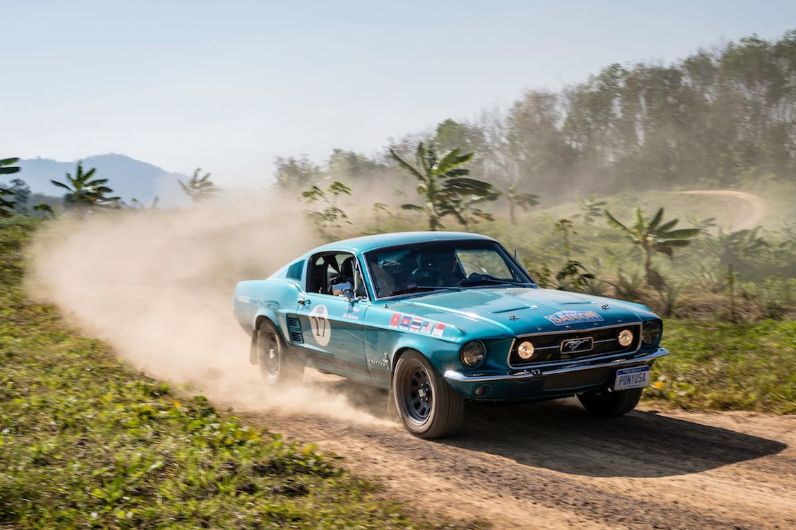 Car 17. Marc Buchanan (USA) / Ralf Weiss (D) 1967 Ford Mustang