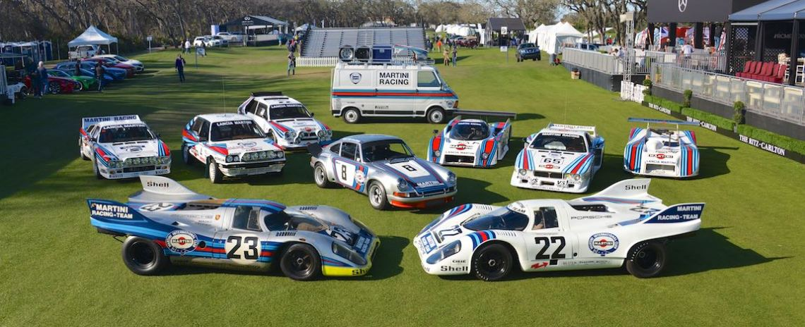 Cars of Martini Racing - 2018 Amelia Island Concours d'Elegance