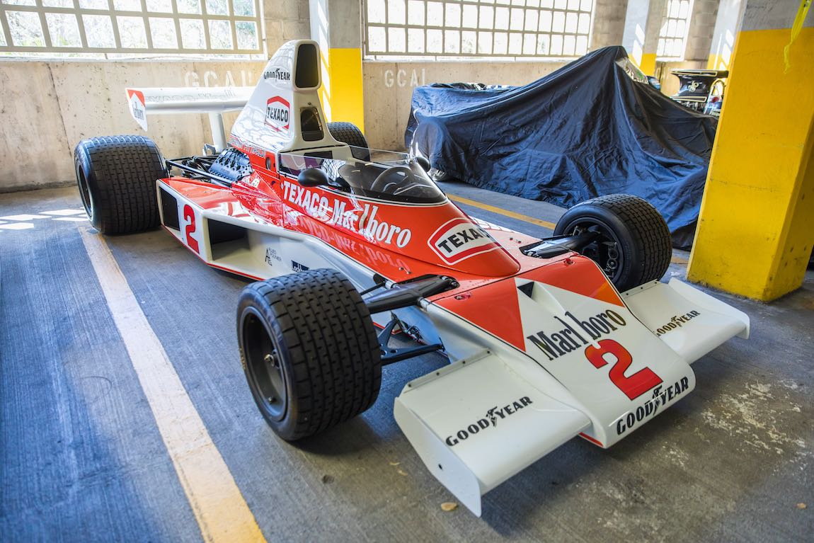 Ex-Emerson Fittipaldi McLaren M23 (photo: DeremerStudios.com)