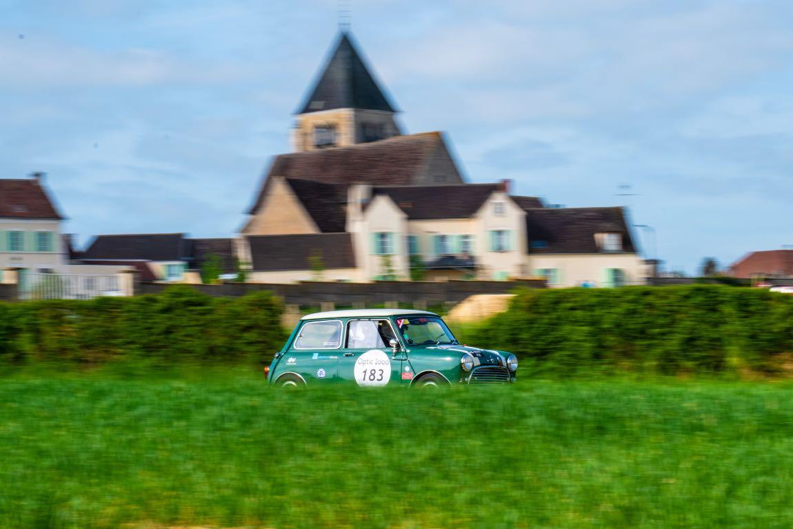 Guillaume BRAJEUX / Augustin BRAJEUX FRA / FRA MORRIS Cooper S 1300 MKI 1964