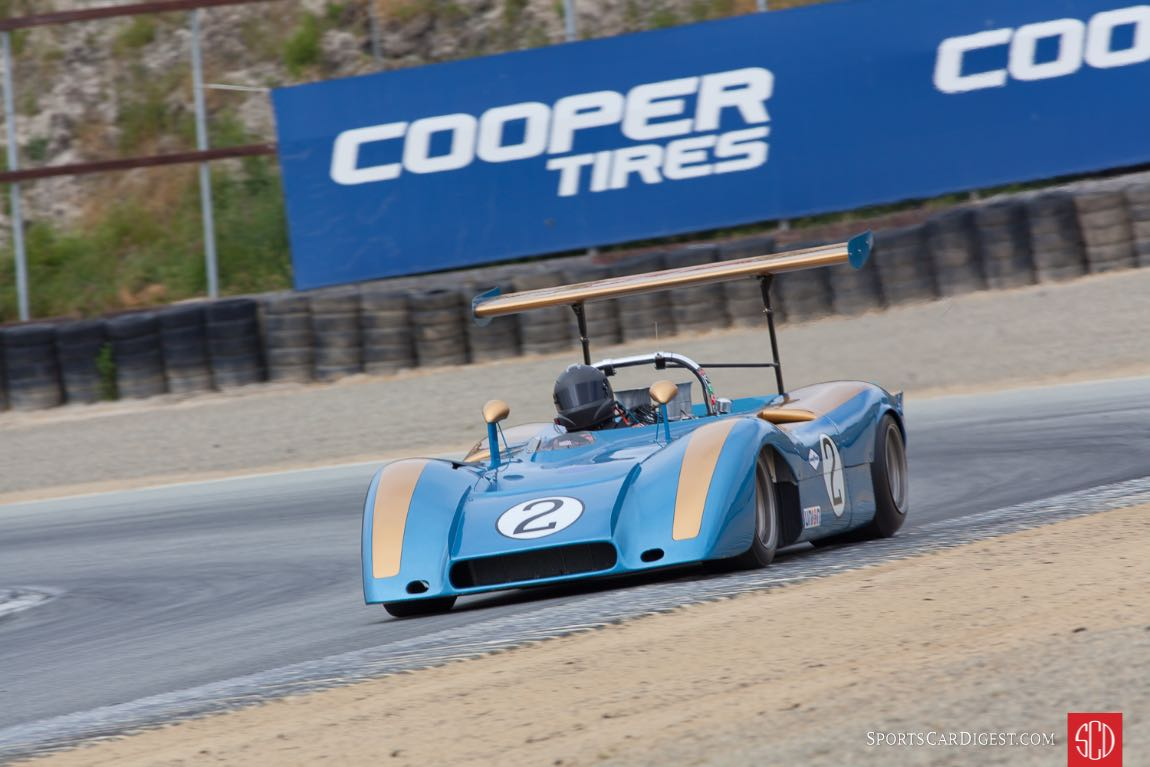 Tony Garmey - 1969 Ford CanAm