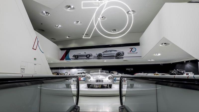 70 Years of Porsche Exhibit