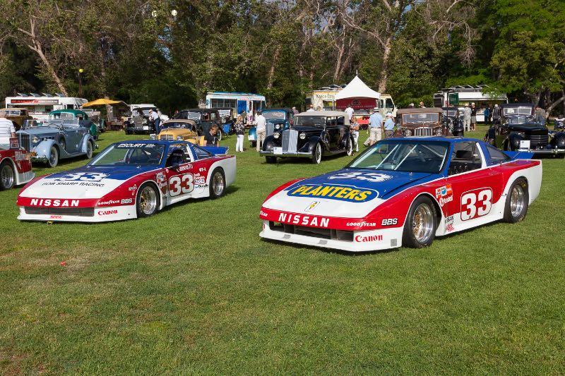 [L-R] 1985 Nissan 300ZX, 1986 Nissan 300ZX