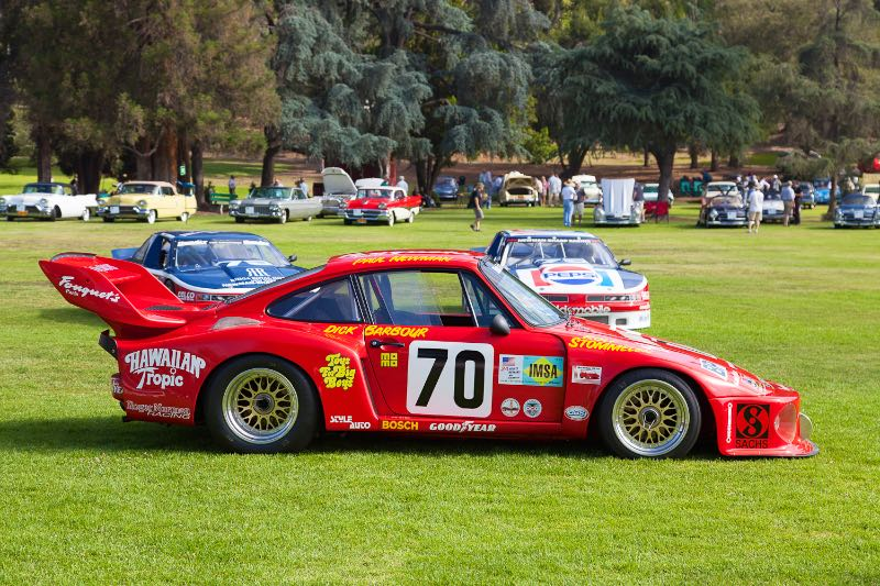 "1979 ""Hawaiian Tropic"" Porsche 935 that Paul Newman drove to class win and 2nd overall victory in the 1979 24 Hours of Le Mans."