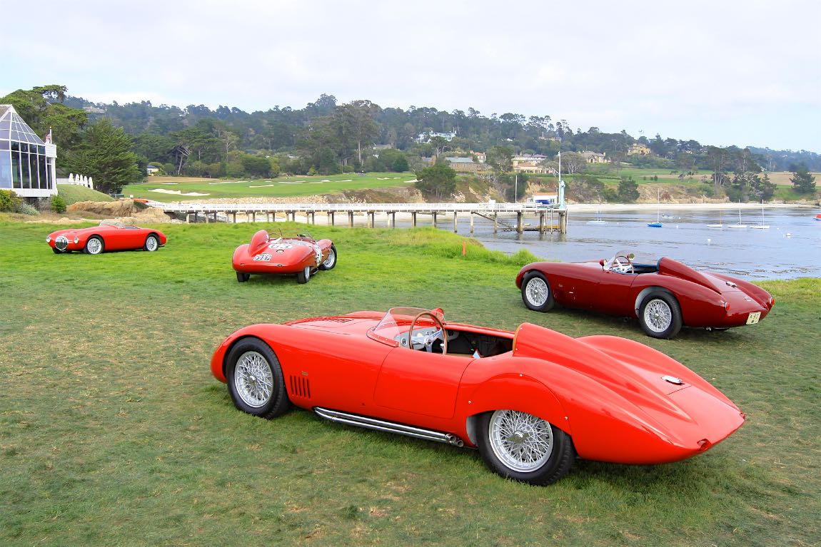 Pebble Beach Concours DElegance Photos Results And Winners - Pebble beach car show 2018