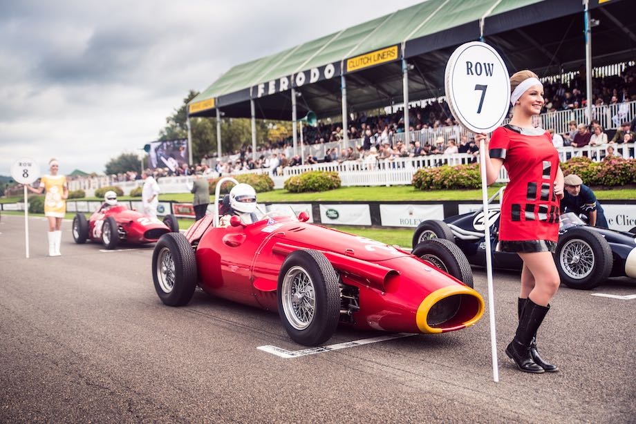 Maserati 250F on the grid