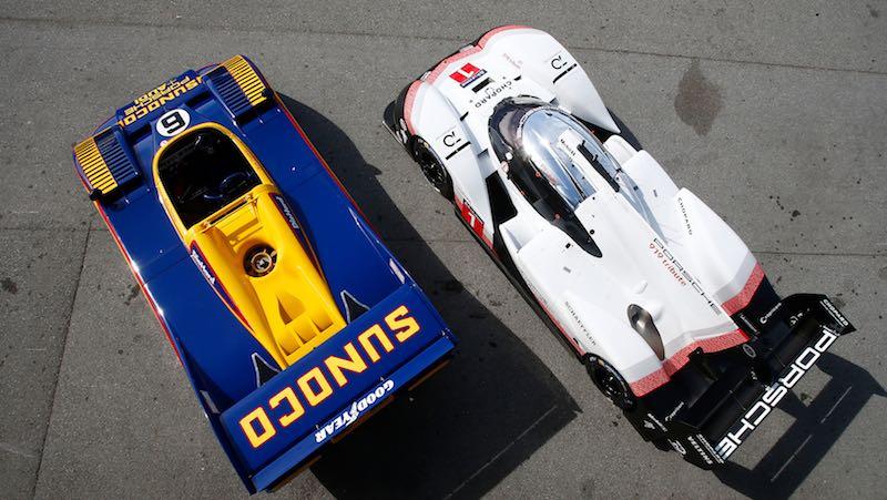 Porsche 919 Evo and Porsche 917/30
