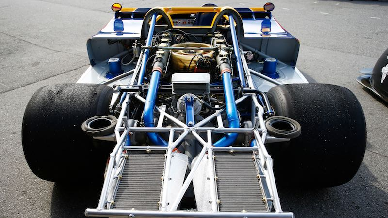 5.4-litre V12 turbo engine of the Porsche 917/30
