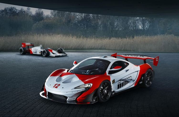 McLaren P1 GTR in celebration of 30th anniversary of Ayrton Senna securing his maiden Formula 1 World Championship