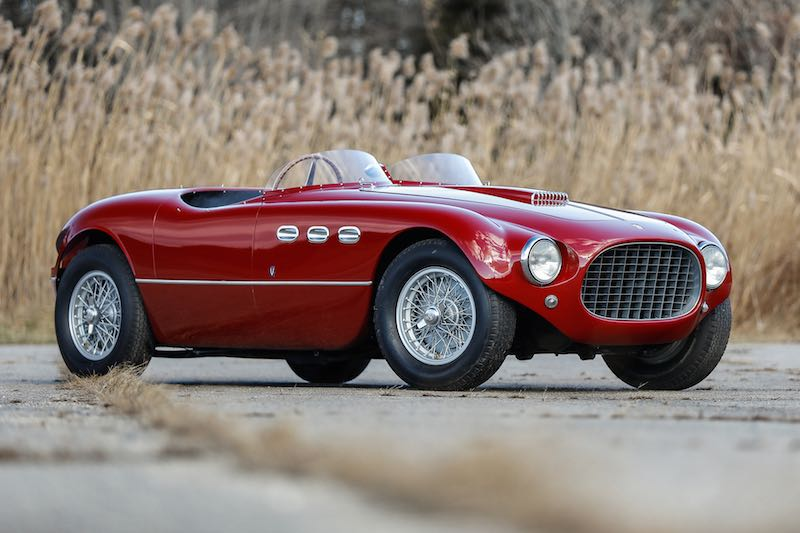 1953 Ferrari 250 MM Spider Series II, chassis 0348 MM (photo: Mathieu Heurtault)