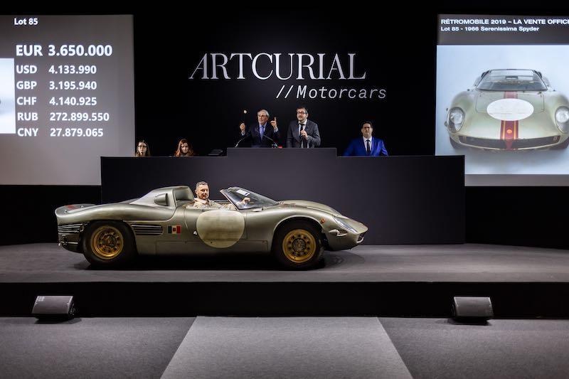 1966 Serenissima Spider - €4,218,800