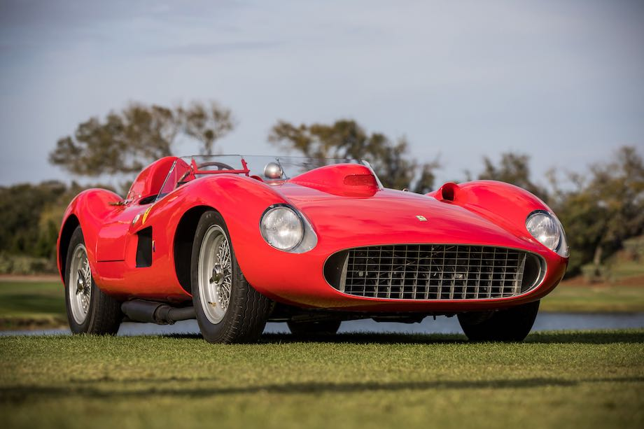 1957 Ferrari 335 S, chassis 0674, Best of Show Concours de Sport at the Amelia Island Concours 2019
