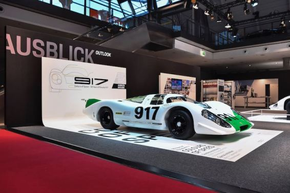 The very first 917 back in its original condition from 1969.