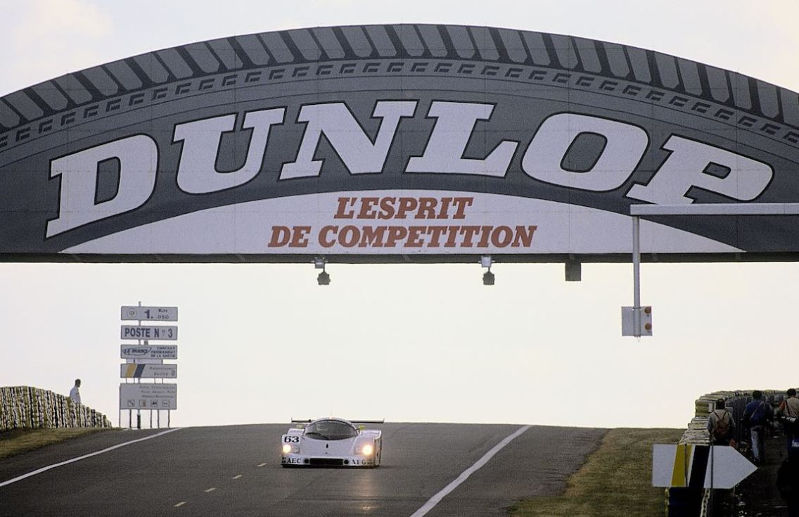 24 Hours of Le Mans, 10-11 June 1989. Sauber-Mercedes C 9, Group C racing car,. Starting number 63 – winners: Jochen Mass / Manuel Reuter / Stanley Dickens.