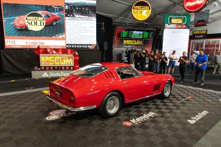 1967 Ferrari 275 GTB/4 Mecum Monterey