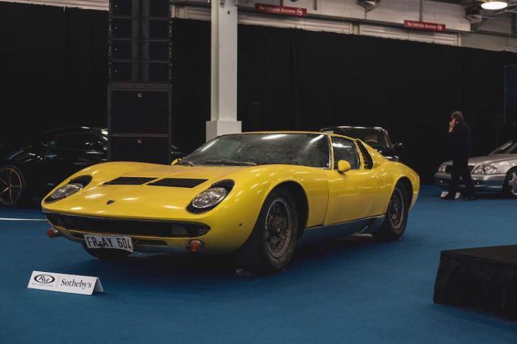 1969 Lamborghini Miura P400 S