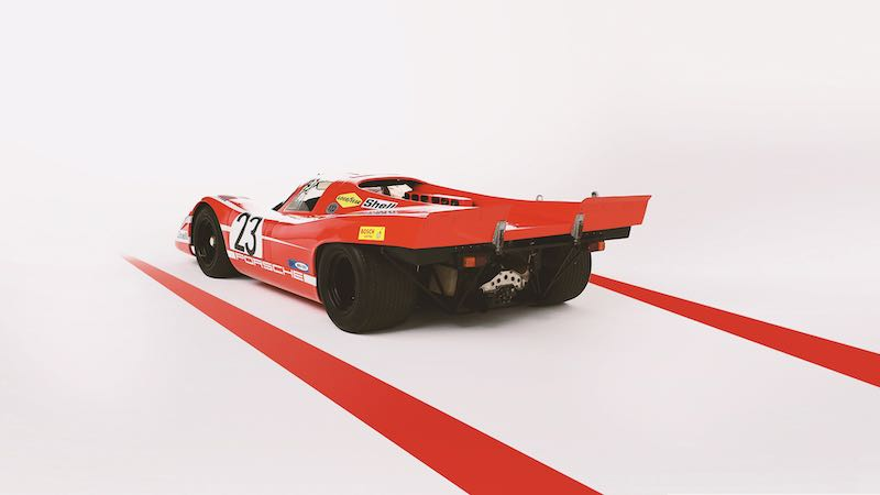 Porsche 917 in Salzburg Red
