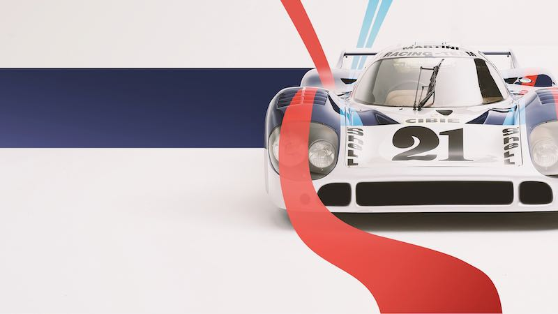 Porsche 917 Long-tail with Martini livery