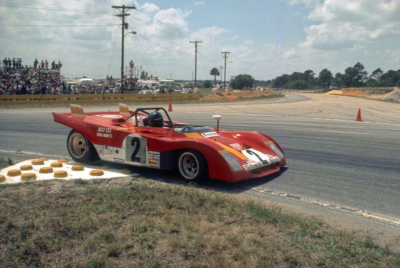 Jacky Ickx Ferrari 312P Sebring 12 Hours