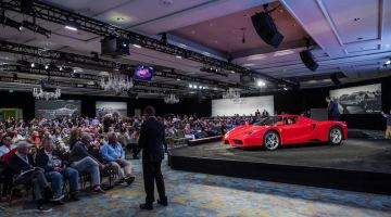Ferrari Enzo at the RM Sotheby's Amelia Island Auction
