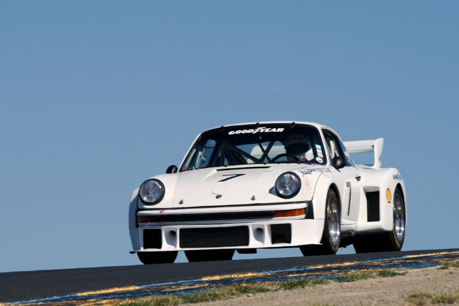 James Lawrence's 1977 Porsche 934.5 in three.