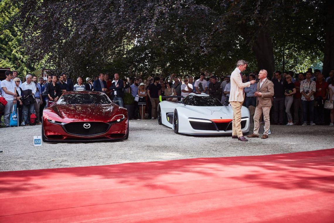 Mazda Concepts - Concorso d'Eleganza Villa d'Este 2016