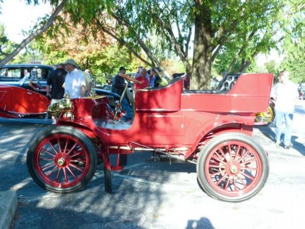 1902 Packard Model F Rear-Entry Tonneau