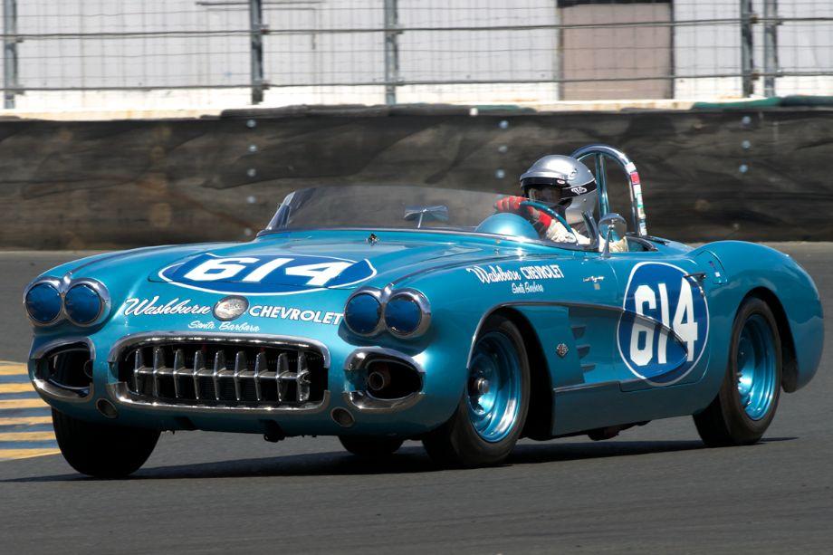 Steve Earle's 1959 Corvette in eleven.