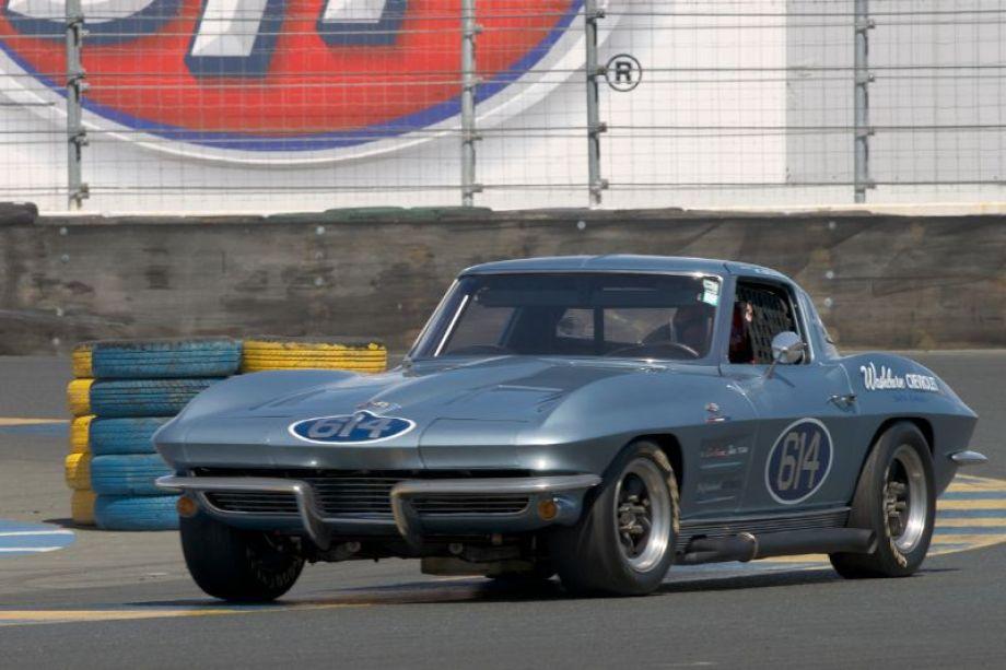 Steve Earle's 1963 Corvette in eleven.