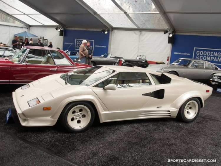 1987 Lamborghini Countach LP500 QV Coupe, Body by Bertone
