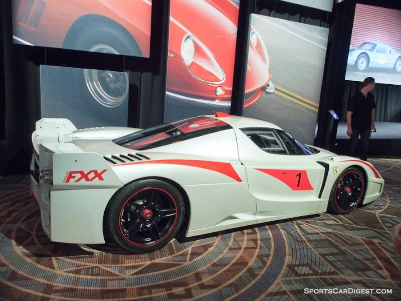 ferrari fxx evoluzione interior. 2005 ferrari fxx evoluzione coupe fxx interior