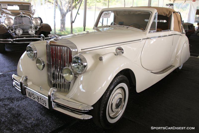 1950 Jaguar Mk V 3 1/2 Liter Drophead Coupe