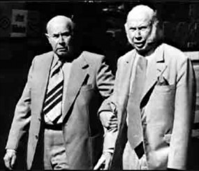 Brothers Hans (left) and Fritz Schlumpf